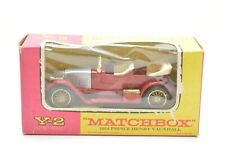 MATCHBOX MODELS OF YESTERYEAR Y2 1914 PRINCE HENRY VAUXHALL