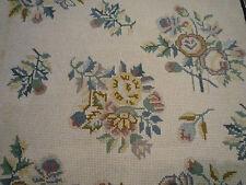 """Alfombra de bordado de magnífico estilo victoriano (4ft.2"""" X 2ft.11"""")"""