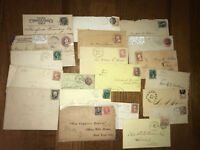 20 piece Connecticut 19th century postal history collection [y1956]