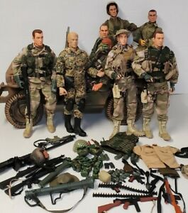 GI Joe Dolls and Accessories Huge Lot + other brands