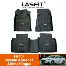 Lasfit Floor Mats Custom For Nissan Armada/Altima/Rogue Tpe All Weather Protect