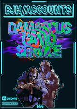 [PS4/XB1/PC] Call of Duty: Modern Warfare Damascus Camo Service