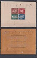 GERMAN REICH 1935 Ostropa Block Mint * B68 (Mi.576-579 Block3)