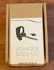 Plantronics Voyager 5200 Uc Bluetooth Headset w/ Charging Case and Usb Adapter