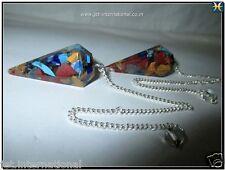 Lot of 2 Orgone Pendulums Healing Dowsing Energy Sacred Aura Metaphysical Gift