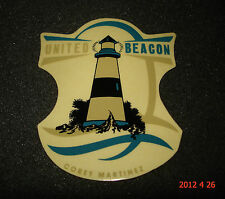 1 AUTHENTIC UNITED BEACON BMX BICYCLE STICKER / DECAL #23 AUFKLEBER