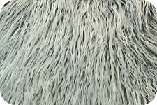 Grey Frost Mongolian Faux Fur Photo Prop Newborn Nest 18 x 30 Inches Photography