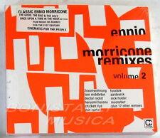 ENNIO MORRICONE REMIXES VOL. 2 - BANDE ORIGINALE O.S.T 2 CD scellé