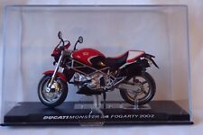 MOTO DUCATI MONSTER S4 FOGARTY 2002 1/24 ALTAYA / IXO