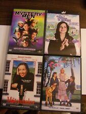 Matchmaker/ Mystery Men/ Cats & Dogs/ Nadine In Dateland Dvd Lot Of 4
