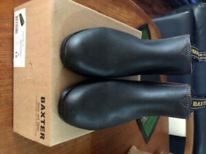 Baxter Tuffy Youth & Ladies Riding Boots  size  AUS 8