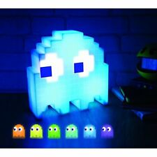 PACMAN Pixel GHOST LIGHT - COLOUR Changing MOOD Night LIGHT - USB Powered