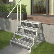 DOLLE Außentreppe Gardentop Gitterroststufe Gartentreppe 2 - 14 Stufen