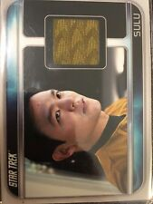2009 Star Trek The Movie John Cho ( Sulu ) costume wardrobe relic card #CC4