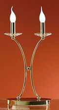 Tischlampen aus Messing in aktuellem Design