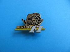 F1 Renault Racing Car Engine Pin badge, Enamel & Gold Coloured, A. Bertrand