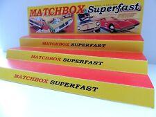 Matchbox Superfast  Shop Display Stand/