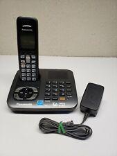 Panasonic Kx-Tg6441 Dect 6.0 Single Line Cordless Phone Main Base & Kx-Tga641