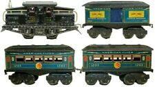 VINTAGE PRE-WAR AMERICAN FLYER ELECTRIC 0-GAUGE  #1218 PASSENGER TRAIN SET
