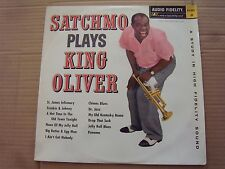 SATCHMO PLAYS KING OLIVER (LOUIS ARMSTRONG) 33 TOURS - REF 42 001