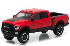 1:64 Greenlight *RED POWER WAGON* 2017 Dodge RAM 2500 Crew Cab Pickup Truck NIP!
