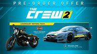 The Crew 2   Legendary Motors Pack   PS4   NTSC-U/C   #NO GAME   PSN Code