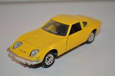 GAMA 9830 Opel GT 1900 yellow 1:43 perfect mint condition