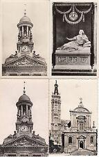 Lot 4 cartes postales ancienne CAMBRAI divers monuments