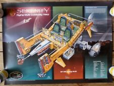 FIREFLY SHIP Serenity Movie FLYING MULE CUTAWAY VIEW Poster 24X32 TV Show