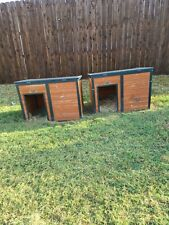 Dog house paid over 100.00 dog would not go into. Been setting in backyard.