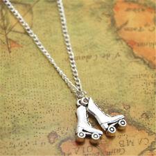 Roller Skate necklace Roller Skate Charm pendant Roller Derby Jewelry Roller