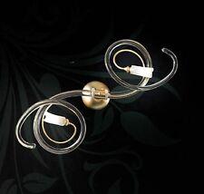 Plafoniera contemporanea design moderno in vetro e foglia oro BELL chic 2010/A2L