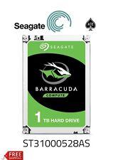 "Seagate Barracuda 7200.12 1TB,Internal,7200 RPM,8.89 cm (3.5"") (ST31000528AS)"