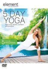 Element 5 Day Yoga DVD 5060020706011 Ashley Turner Andrea Ambandos