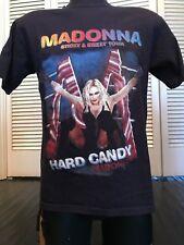 Madonna Sticky Sweet Tour Shirt Sz M Pop Rock Berlin Bangles Omd Cure Blondie U2