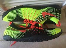 NIKE FREE HYPERFEEL TR Training Shoes MEN'S 8.5 MSRP $175 Black/Volt/Crimson NEW