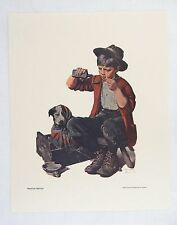 Vintage 1970's Norman Rockwell Bedside Manner Saturday Evening Post Print
