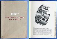 Catalogo SKF Cuscinetti a sfere ed a  rulli - ed. 1964 ca.