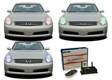 for Infiniti G35 05-06 RGB Multi Color WIFI LED Halo kit for Headlights