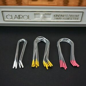 NEW Replacement CLIPS for Clairol Kindness Deluxe 3-Way Hot Rollers Hairsetter
