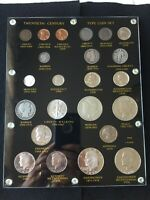 20th century US Coin Type Set in capital holder