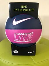 VOLLEYBALL-NIKE HYPERSPIKE LITE-SIZE-5-INDOOR GAME BALL-WHITE/BLUE-NEW-IN BOX-