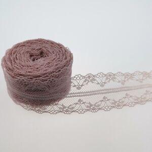Lace Trim DIY Ribbon Wedding Dress Fabric Sewing 10meter Craft Decor Decoration
