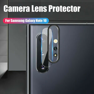 For Samsung Galaxy Note 10+ Back Rear Camera Lens Protective Ring Tempered Glass