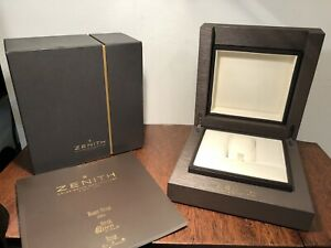 New! Authentic ZENITH Swiss Baby Star Watch Box