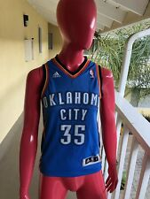 0ceba4526cb Adidas Kevin Durant NBA OKC Oklahoma City Thunder Basketball Jersey Youth  Small