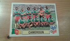 N°143 TEAM EQUIPE ELFTAL # CAMEROUN PANINI USA 94 WORLD CUP ORIGINAL 1994