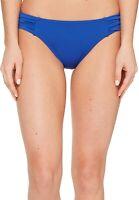 Tommy Bahama Women's 189812 Side-Shirred Hipster Bikini Bottom Swimwear Size S