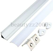 50cm Aluminium U/V/YW Style Channel Holder Cover For LED Bar Lamp Strip Light