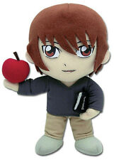"Brand New GE-7049 Death Note - 7"" Light Yagami w/ Apple Stuffed Plush Doll"